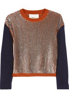 3.1 Phillip Lim Sequin-embellished wool-blend sweater