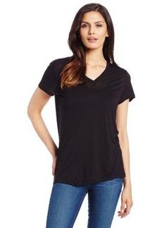 Calvin Klein Jeans Women's Solid V-Neck Tee
