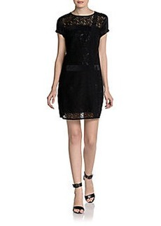 Nanette Lepore La Rambla Mixed Lace Dress