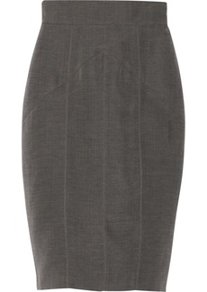 Burberry Prorsum Cotton and silk-blend skirt