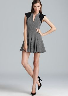 FRENCH CONNECTION Dress - Pop Stretch Fit and Flare