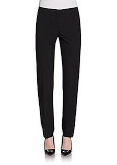 Lafayette 148 New York Stretch Wool Slim Leg Pants