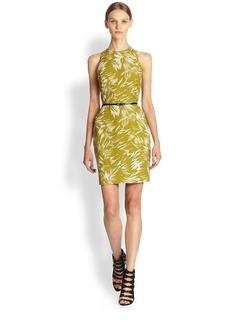 Jason Wu Botanical Linen Crepe Dress