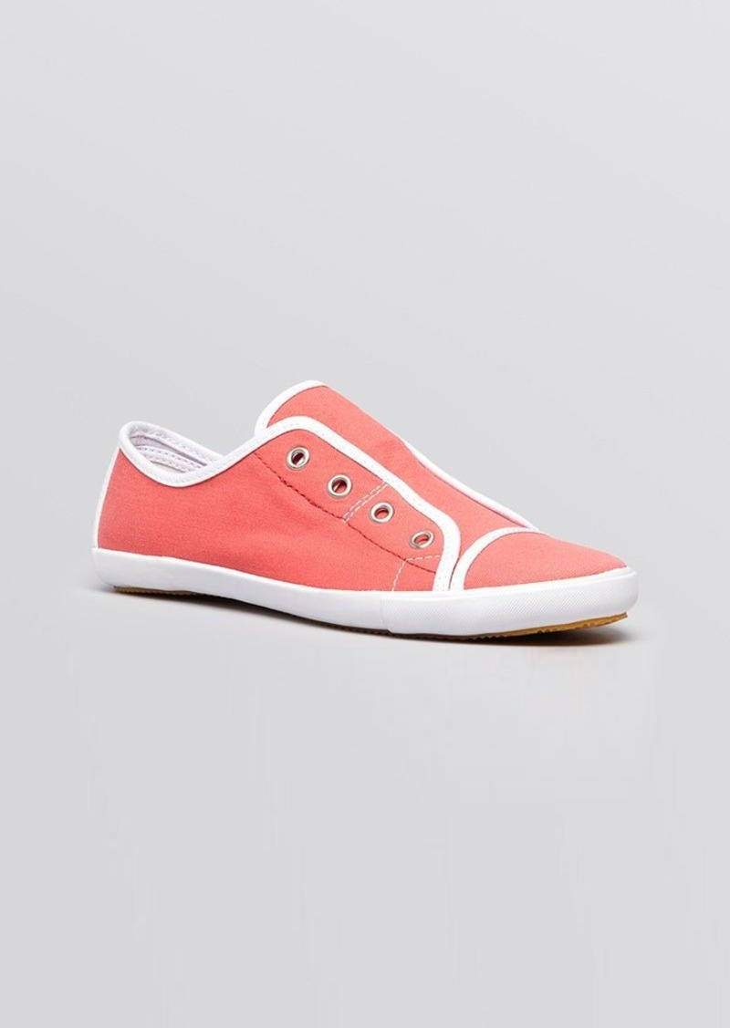 FRENCH CONNECTION Flat Slip On Sneakers - Sahara