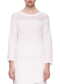J Brand Ready to Wear Marsha Squiggle Knit Sweater