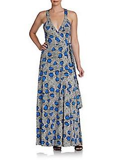 Diane von Furstenberg Samson Printed Maxi Dress