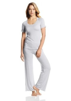 Natori Women's Feathers Short Sleeve Pajama