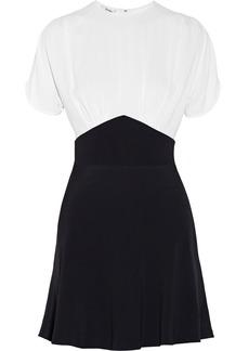 Miu Miu Two-tone cady dress