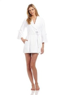 "Betsey Johnson Women's Loop Terry ""Mrs."" Bridal Robe"