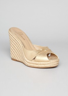 Delman Espadrille Platform Wedge Sandals - Jaime