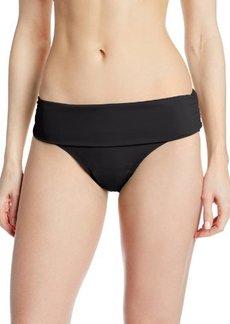 Jones New York Women's Basic Foldover Brief Bikini Bottom
