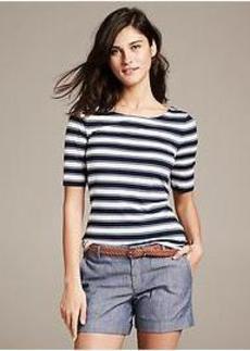 Striped Catalina Tee