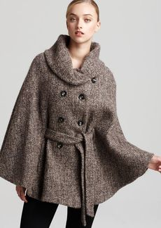 Calvin Klein Tweed Cape