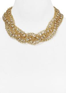"""ABS by Allen Schwartz 3 Row Braided Chain Necklace, 18"""""""