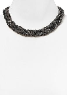 """ABS by Allen Schwartz Braided Chain Necklace, 17"""""""