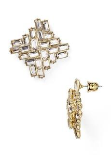 ABS by Allen Schwartz Button Stud Earrings