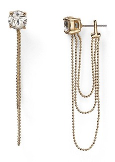 ABS by Allen Schwartz Call of the Wild Chain Connector Earrings