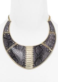 "ABS by Allen Schwartz Call of the Wild Snake Collar Necklace, 16"""