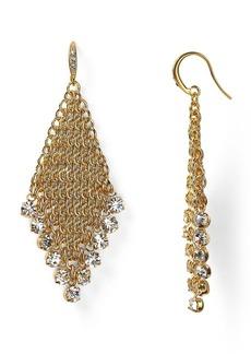 ABS by Allen Schwartz Chainmail Earrings