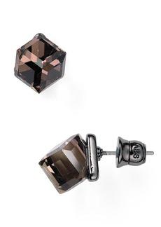 ABS by Allen Schwartz Cube Earrings