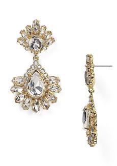 ABS by Allen Schwartz Double Drop Chandelier Earrings