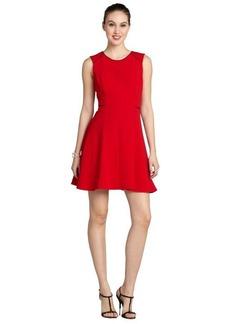 A.B.S. by Allen Schwartz flame sleeveless fit n flare dress