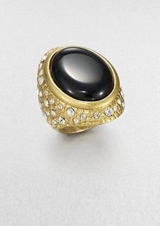 ABS by Allen Schwartz Jewelry Textured Cabochon Ring