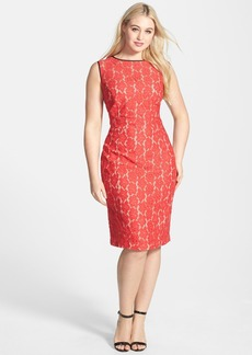ABS by Allen Schwartz Lace Midi Dress (Plus Size)