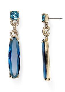 ABS by Allen Schwartz Long Stone Earrings