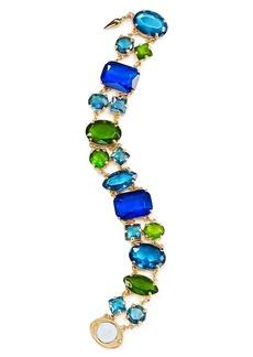 ABS by Allen Schwartz Multicolor Stone Link Bracelet