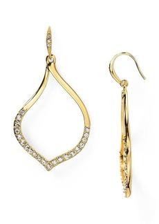 ABS by Allen Schwartz Open Drop Earrings