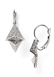 ABS by Allen Schwartz Pyramid Drop Earrings