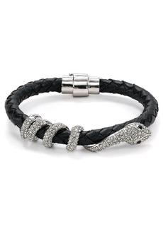 ABS by Allen Schwartz Snake & Leather Bracelet