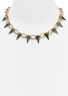 """ABS by Allen Schwartz Spike Collar Necklace, 18"""""""