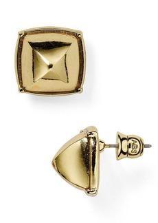 ABS by Allen Schwartz Square Stud Earrings