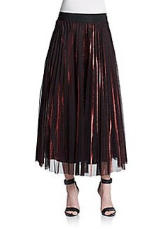 ABS Fortuny-Pleated Skirt
