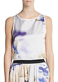 ABS Printed Cropped Top