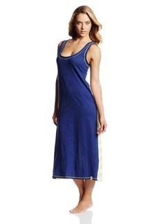 Tommy Hilfiger Women's Stripe Back Lounge Maxi Gown