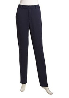 Nanette Lepore Narrow Straight-Leg Pants, Navy