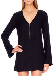 Front-Zip Coverup   Front-Zip Coverup