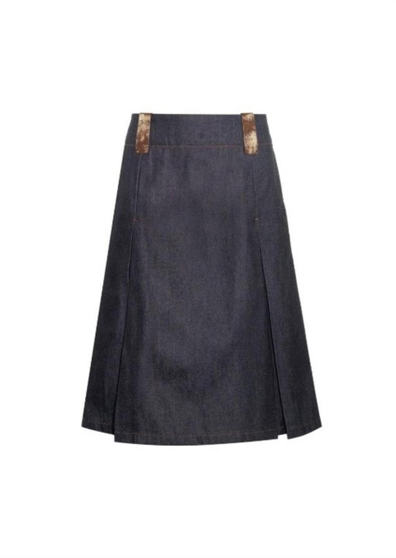 acne acne studios kate denim skirt skirts shop it to me