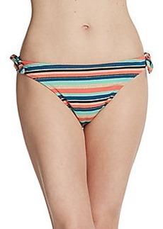 Shoshanna Brisbane Stripe Bikini Bottom