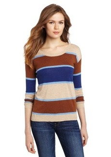 Kensie Women's Fine Gauge Melange Knit Sweater