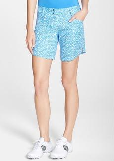 adidas 'Advance' Deco Print Golf Shorts