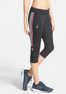 adidas 'AKTIV Pink Ribbon' Three Quarter Tights