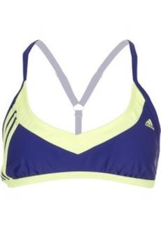 Adidas Beach 3-Stripe Racer Back Sport Bikini Top - Women's
