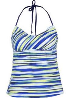 Adidas Beach Fade Stripe Bandeaukini - Women's