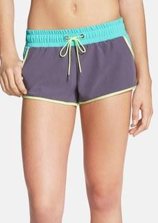 adidas Colorblock Tie Waist Board Shorts