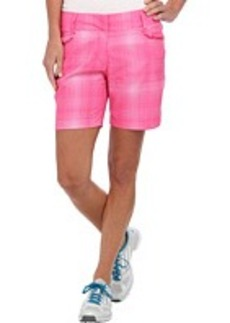 adidas Golf Plaid Short