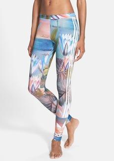 adidas Originals 'Curso D'Agua' Print Three Stripe Leggings
